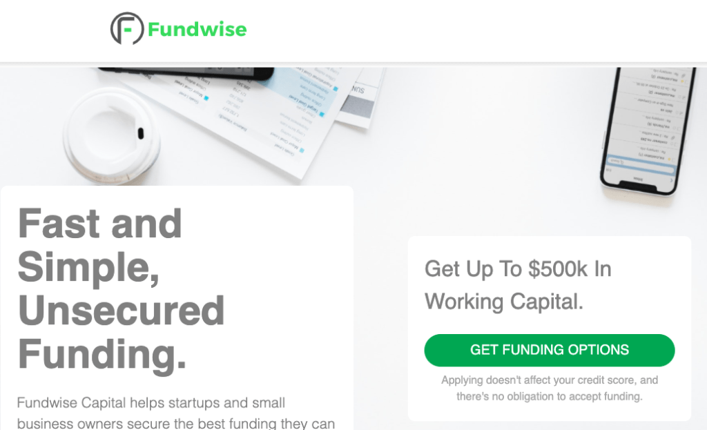 Fundwise Capital-SoFlo Funding-Get the best business funding available for your business, start up or investment. 0% APR credit lines and credit line available. Unsecured lines of credit up to 200K. Quick approval and funding.